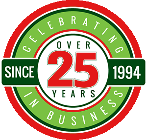 25+ Years In Business