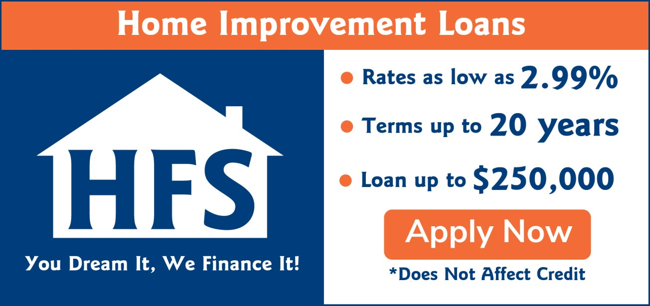 Apply for a Home Improvement Loan to Add Landscaping to your Property.