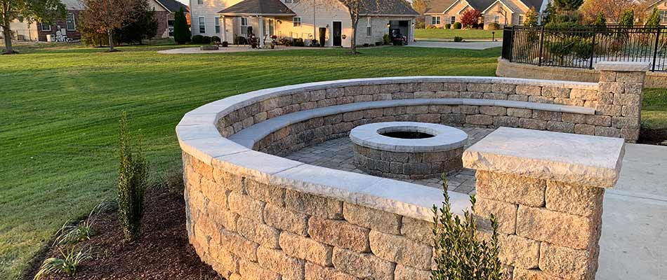 Project Case Study: Paver Patio with Firepit in Columbia, IL