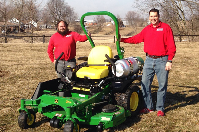 Pricing for lawn mowing & manicuring in the Millstadt, IL area.