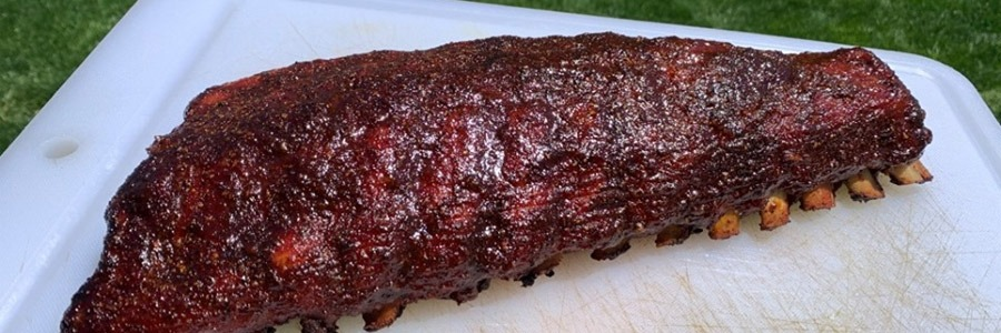 St. Louis Style BBQ Ribs On The Big Green Eggecutive Smoker
